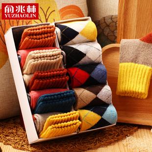 兔羊毛袜女士秋冬季韩版棉袜长袜子男袜加厚秋冬款短袜中筒袜森系