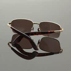 天然水晶眼镜男太阳镜防辐射凉目养眼平光镜高清石头镜墨镜抗疲劳
