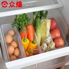 众煌日本进口冰箱收纳冷藏蔬菜整理盒食品储存盒子塑料置物盒特价