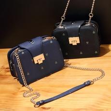 小包包2016新款斜挎包日韩版时尚女包单肩包女链条包小方包斜跨包