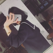 韩国ulzzang秋日系学院海军风小西装薄款学生西服短款加厚外套女