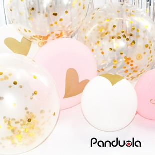 Clear Confetti Balloon Latex Confetti Ballon Wedding
