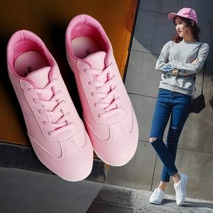 维丹诺春季新款休闲运动鞋女鞋韩版白色阿甘鞋女生百搭平底板鞋子