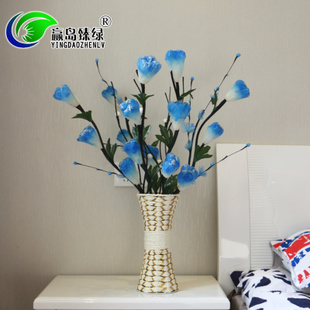 Tulip real flower living room table ornament decorative fl
