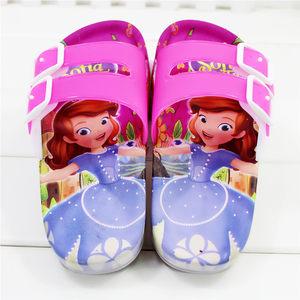 儿童凉拖鞋夏季男童洞洞鞋女童可爱卡通软底宝宝<span class=H>沙滩鞋</span>