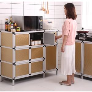 餐边柜组装储物柜简易橱柜放碗柜家用经济型厨房<span class=H>柜子</span>收纳柜多功能