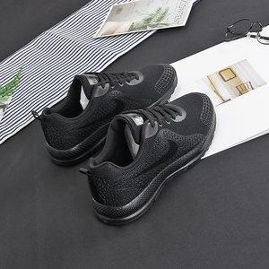 低帮<span class=H>运动鞋</span>女ins春季黑色百搭透气情侣休闲鞋显瘦潮男学生跑步鞋