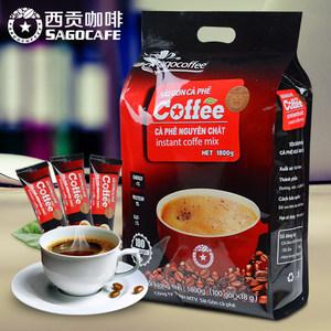 越南<span class=H>西贡</span>进口三合一原味即溶<span class=H>咖啡</span>速溶<span class=H>咖啡</span>粉100条装1800克
