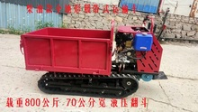 Customized Crawler Transport Vehicle Agricultural Loader Mountain Orchard Climbing Vehicle Transporting Sandstone Bricks in Buildings