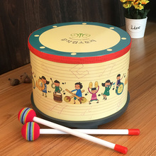 Orff Musical Instrument Drum Children's Toy Kindergarten Percussion Instrument Tapping Drum Cartoon Children's Drum Korean Drum