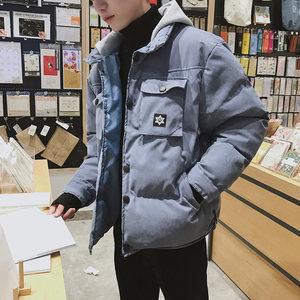 男款<span class=H>外套</span>2018新款男冬季棉袄帅气百搭保暖冬天棉服男士棉衣外衣潮