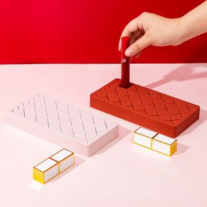 硅胶口红收纳盒多格桌面化妆品整理