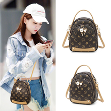 Nethong Baggage Girl 2019 New Summer Baitie Texture Mini Mobile Baggage Fashion Baggage Single Shoulder Slant Baggage