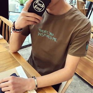 包邮9.9元九块九男装衣服学生韩版T恤短袖9块特价便宜货10元以下