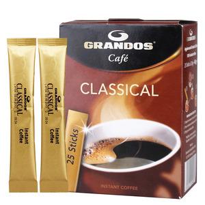 德国进口 grandos格兰特经典黑<span class=H>咖啡</span>纯<span class=H>咖啡</span><span class=H>豆</span>研磨磨<span class=H>速溶</span><span class=H>咖啡</span><span class=H>粉</span>45g