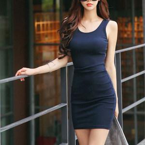 内搭大码打底衫吊带背心连衣裙女夏季中长款包臀韩版修身显瘦衬裙