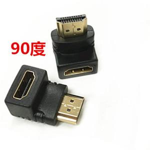 HDMI公转HDMI母弯头直角90度L型<span class=H>转接头</span>线1.4版公对母转换头