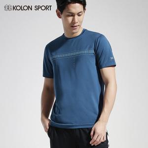 KOLONSPORT可隆T恤男短袖 19夏新品户外运动轻薄速干休闲圆领T恤