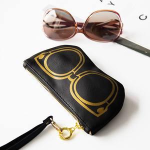 韩国旅行创意太阳镜袋墨镜<span class=H>袋子</span> 眼睛袋 <span class=H>眼镜</span>袋收纳包女男