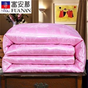 蚕丝被桑蚕丝棉被春秋冬被全棉被空调夏凉被单双人六8斤加厚保暖