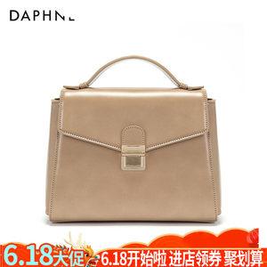Daphne/达芙妮新款女包小方包<span class=H>手提包</span>漆皮单肩斜挎包1017483015