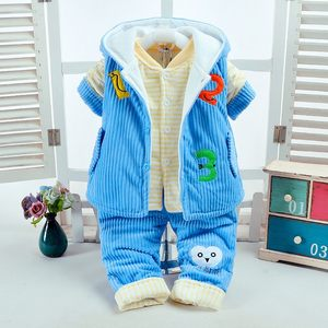 男童装秋冬款套装婴儿童3 9个月女宝宝冬装0 1 2岁<span class=H>棉衣</span>服<span class=H>外套</span>潮