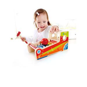 <span class=H>Hape</span>单球敲琴台 婴幼儿童小木琴宝宝男女孩木制1-3岁益智玩具