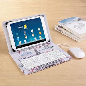 ssa平板<span class=H>电脑</span>MID-1013平板<span class=H>电脑</span>皮套带键盘鼠标保护套10寸平板壳