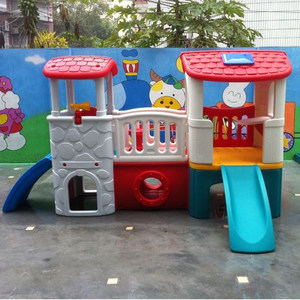 小神童组合<span class=H>秋千</span>滑滑梯室外大型儿童室内家用滑梯幼儿园游乐场设备
