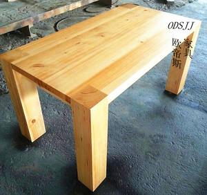 现代简约<span class=H>住宅</span><span class=H>家具</span>实木书桌原木工作桌会议桌全木<span class=H>餐桌</span>创意办公桌