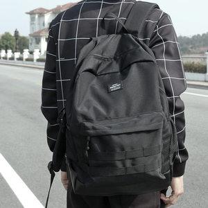 新款原创潮牌双肩包男背包时尚潮流学生<span class=H>书包</span>日本街头大容量旅行包