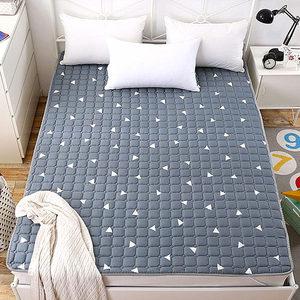 全棉<span class=H>床褥</span>子双人1.8x2.0m米<span class=H>床垫</span>学生垫被单人薄款榻榻米软垫保护垫