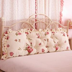贴双人靠枕椅薄款直接碰布艺床上腰垫不墙布自粘布料居家的头枕