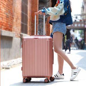 外出行李箱拉杆箱玫红色超轻超级静音轮防潮28国际<span class=H>招行</span>大型装备快