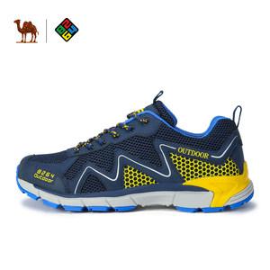 骆驼x8264 户外登山鞋男夏季透气网面运动徒步鞋防滑<span class=H>旅游鞋</span>女