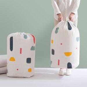 <span class=H>收纳袋</span>被子<span class=H>超大</span>整理袋棉被衣服衣物束口袋家用防潮创意北欧打包袋