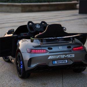 <span class=H>好来喜</span>奔驰AMG儿童电动车<span class=H>汽车</span>四轮遥控宝宝玩具车可坐人电动童车