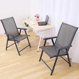 折叠椅子办公电脑椅便携户外桌椅休闲家用简易会议学生折叠靠背椅