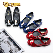 Girl Princess Shoes, Single Shoes, Spring and Autumn Children's Shoes, Soft soles, Girl's Shoes, Lacquered Black Leather Shoes, Spring and Autumn Children's Shoes, Spring and Autumn Children's Shoes