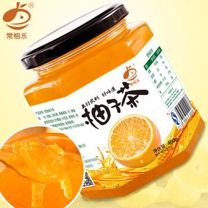 [买2送木勺]常柚乐蜂蜜柚子茶460g*1瓶风味水果茶蜜炼茶酱<span class=H>冲饮</span>品