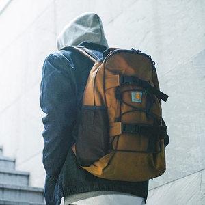 欧美街头潮流时尚户外男女运动双肩包抽绳滑板包大容量背包书包