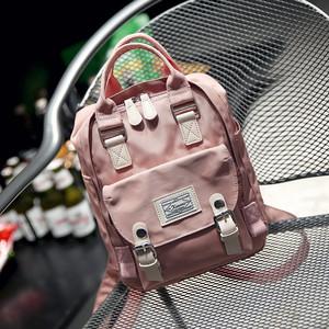 韩版中学生防泼水帆布双肩包女儿童<span class=H>书包</span>休闲旅行小背包迷你包包潮