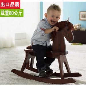 <span class=H>正品</span>木馬<span class=H>兒童</span><span class=H>搖馬</span>實木益智玩具椅環保加厚大號熱銷周歲禮物
