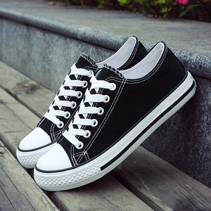 春季新款经典情侣帆布鞋男基本款硫化鞋韩版透气单鞋潮鞋子男板鞋
