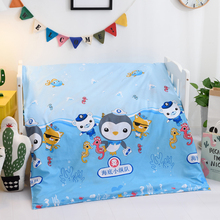Children's kindergarten quilt cover 120*150 is hugged by children's sheets autumn and winter new products support custom-made