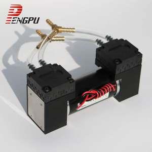 微型<span class=H>真空泵</span>24V负压泵小型抽气泵隔膜泵电动压力泵打气迷你12V