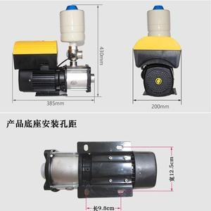 增压泵全自动机电设备五金工具自动化增压家用工具不锈钢静音