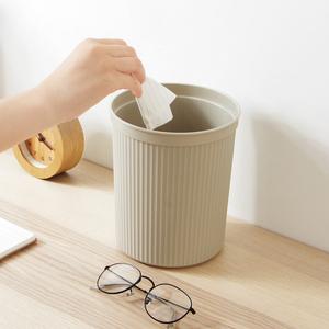 客厅迷你桌面垃圾桶创意厨房无盖小号纸篓简约家用塑料垃圾<span class=H>收纳桶</span>