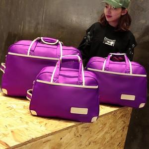 小号衣服<span class=H>包包</span>袋旅游包装拉杆<span class=H>男包</span>旅行袋手提女短途小袋子男女女款