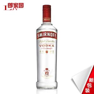 郎家园洋酒包邮 SMIRNOFF Vodka斯米诺(皇冠)红牌<span class=H>伏特加</span>酒